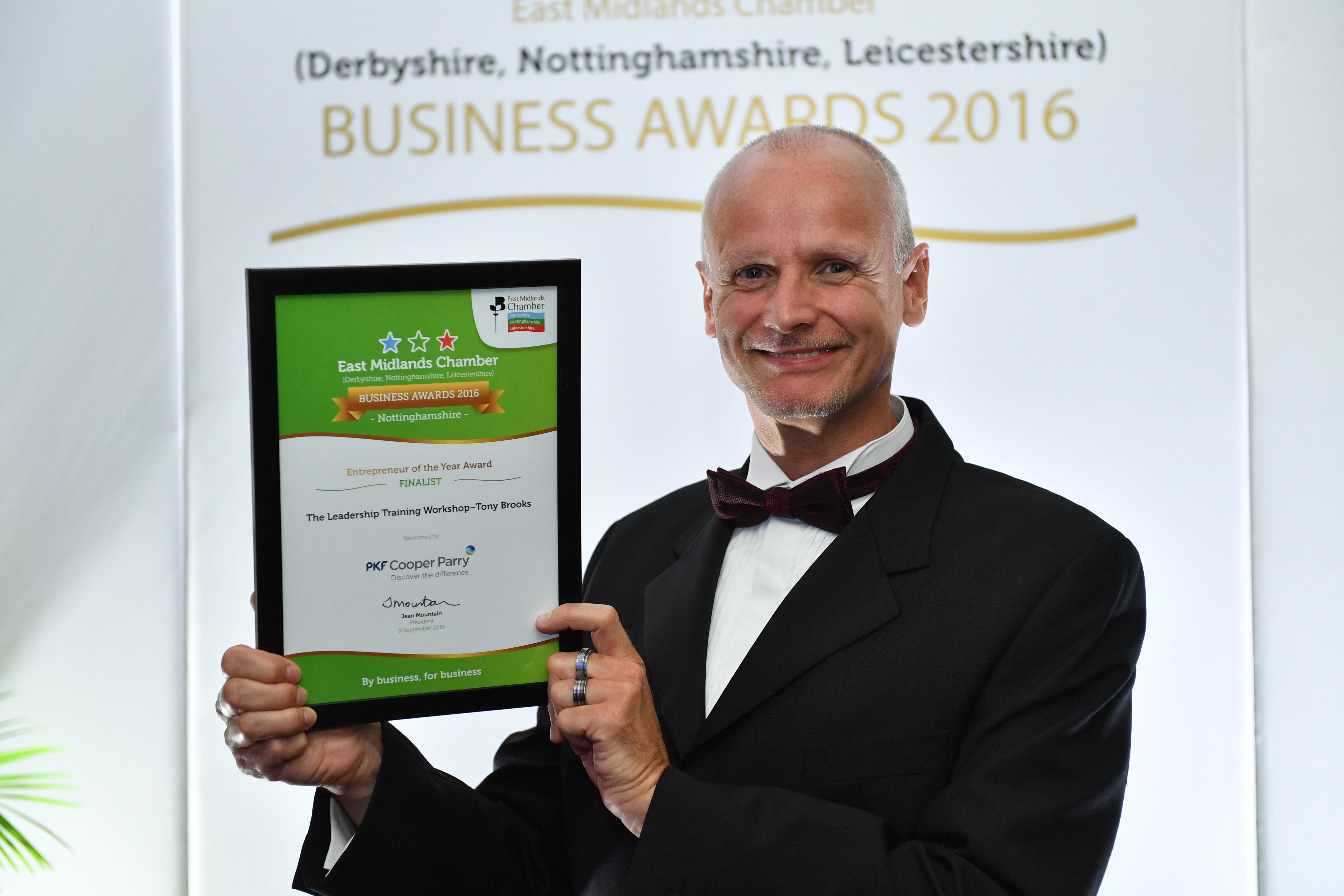 EMC Business Awards 2016 Finalist - Notts