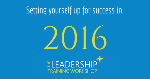 Setting yourself up for success in 2016