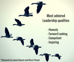important characteristics of admired leaders
