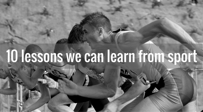 10 lessons we can learn from sport - featured image