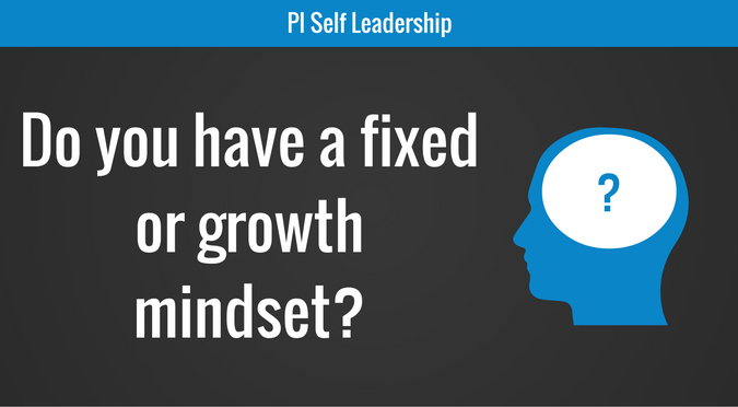 Do you have a fixed or growth mindset