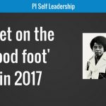 'Get on the good foot' in 2017