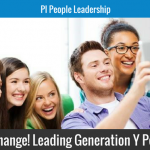 All Change! Leading Generation Y People
