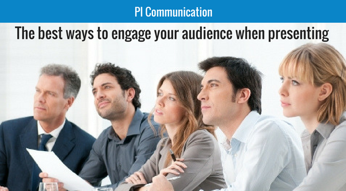 engage your audience when presenting