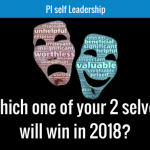 Which one of your 2 selves will win in 2018?