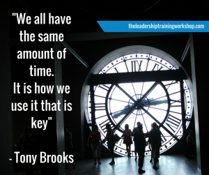 we all have the same amount of time - get organised - habits and behaviours