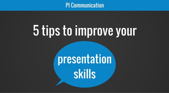 5 tips to improve your presentation skills
