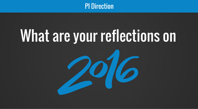 what are you reflections on 2016?