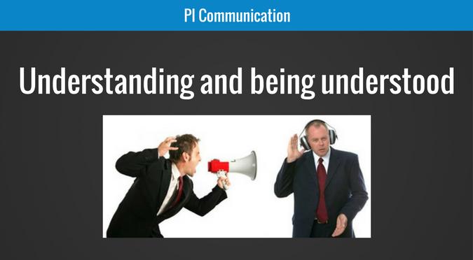 Understanding and being understood