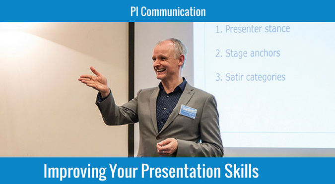 Improving your presentation skills - a top skill
