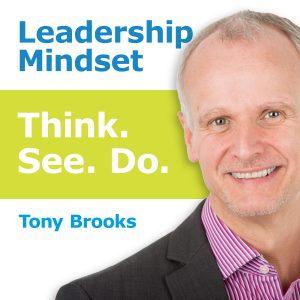 podcast banner - Leadership Mindset - Think See Do